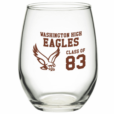 Custom Glassware 9 oz- Set of 12 - $2.50 each