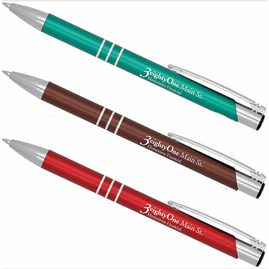 Custom Metal Pens - Closeout Sale