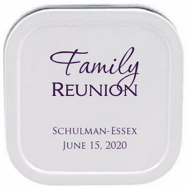 Family Reunion Travel Candles