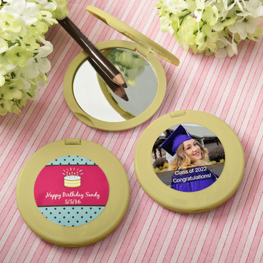 Gold Compact Mirrors