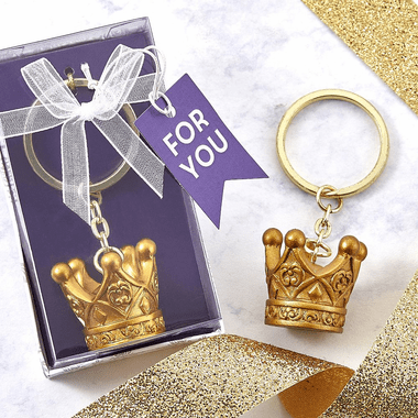 Gold Crown Key Chains