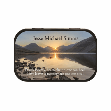 Memorial Giveaways Personalized Tins