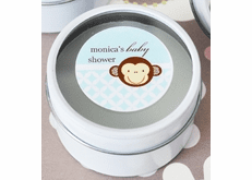 Monkey Favors Baby and Party