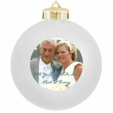 Ornament Wedding Favors Photo