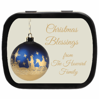 Christmas Blessings Mint Tins