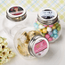 Mini Personalized Candy Jars with labels that you apply