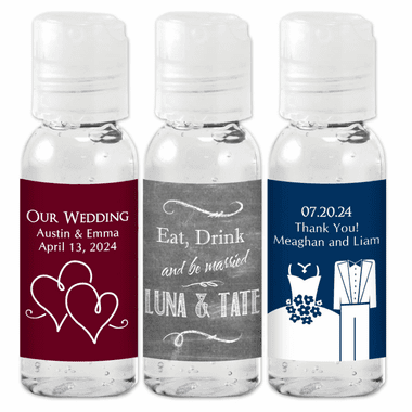 Personalized Hand Sanitizers - 1 oz Spray Bottle