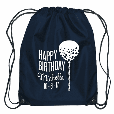 Personalized String Backpack