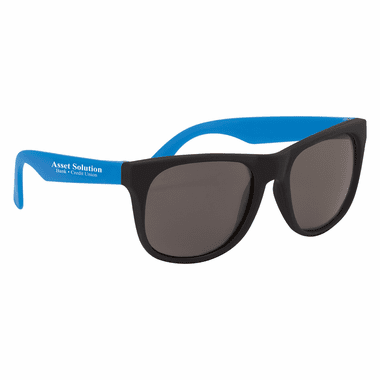 Personalized Sunglasses Rubberized