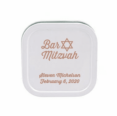 Personalized Vanilla Travel Candle