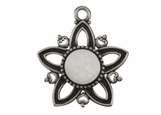 Pewter Star Ornaments