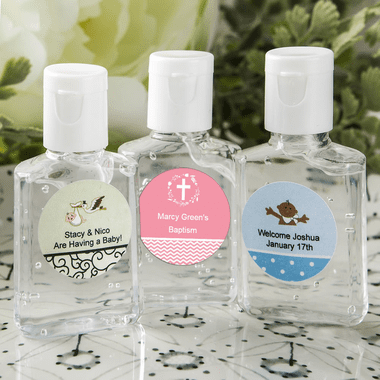 Baptism Hand Sanitizer Favors