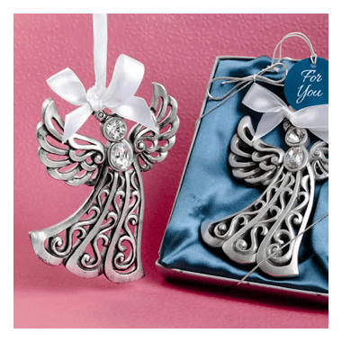 Silver Angel Ornament
