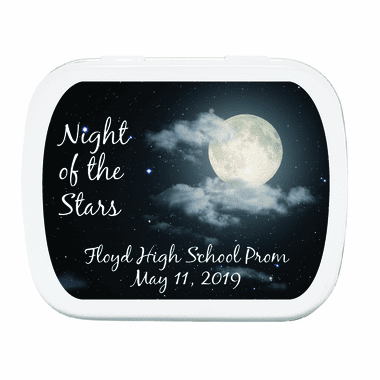 Starry Night Prom Mint Tins