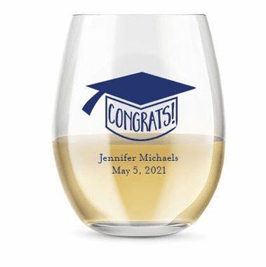9 oz Stemless Wine Glasses - 2 Weeks Production