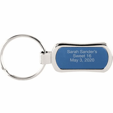 Sweet 16 Engraved Key Chains
