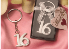 Sweet 16 Key Chains