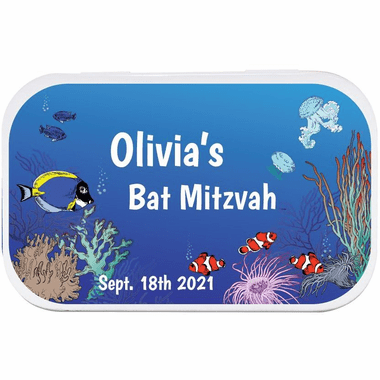 Under the Sea Favors Mint Tins