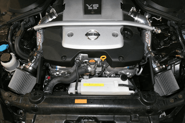 AEM Dual Short Ram Intake System Part # 22-677P for the 2007 Nissan 350Z
