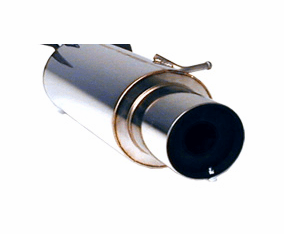 Apexi N1 Exhaust System Part # 162-KH08 for the 1997 - 2001 Honda Prelude (except Type SH)