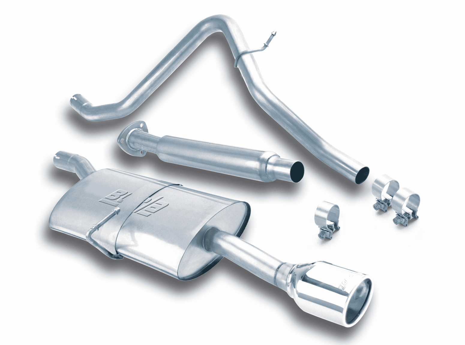 Borla Cat-Back Exhaust System for the 1996 - 2005 Chevrolet Cavalier and Pontiac Sunfire