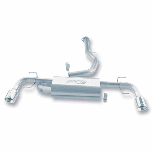 Borla Cat-Back Exhaust System Part # 140078 for the 2004 - 2007 Mazda RX-8