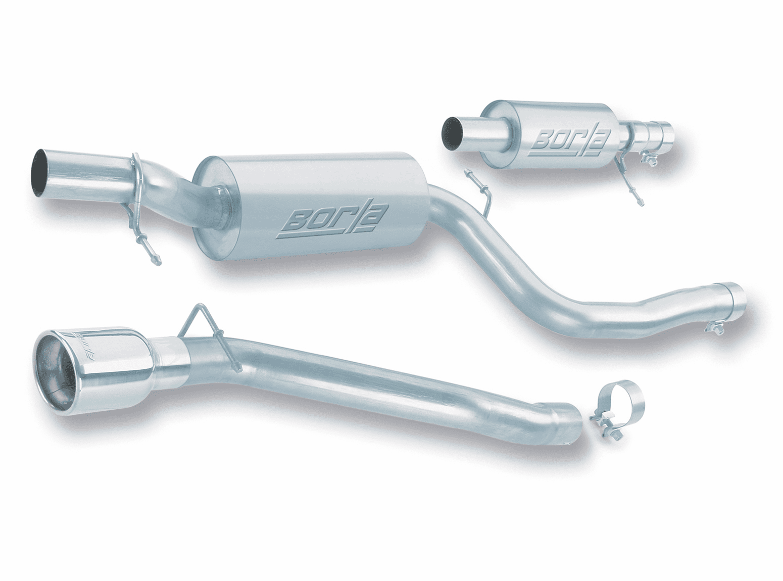 Borla Cat-Back Exhaust System Part # 140121 for the 2004 - 2007 Mazda 3