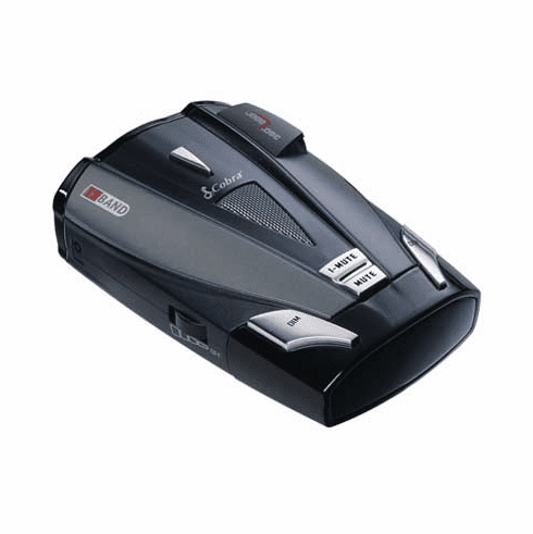 Cobra XRS-9530 - 12 Band Radar/Laser Detector with DigiView Data Display, Voice Alert