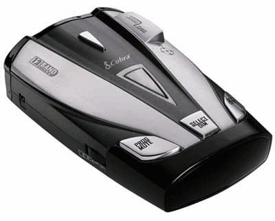 Cobra XRS-9630 - 12 Band Radar/Laser Detector with DigiView Data Display, Electronic Compass, Smart Power