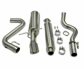 Corsa Touring Cat-Back Exhaust System Part # 14129 for the 2005 - 2007 Chevy Cobalt SS Supercharged