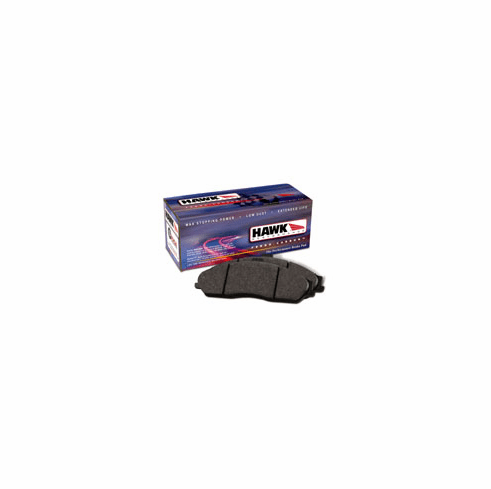 Hawk HPS High Performance Street Brake Pads (rear) Part # HB145F.570 for the 2002 - 2006 Acura RSX Type S and the 2006 - 2007 Honda Civic Si