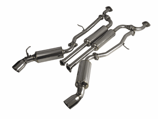 Injen SES 60mm S.S. true dual Exhaust System Part # SES1986C  for the 2003 - 2006 Nissan 350Z