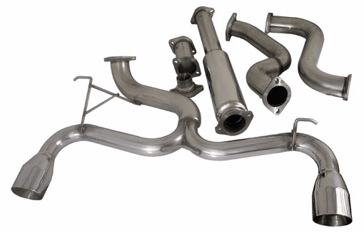 Injen SES 76mm to dual 70mm Cat-Back Single Exhaust System with Test Pipe for the 2003 - 2006 Neon SRT 4