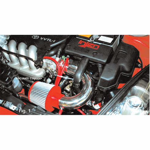 Injen Short Ram Intake System Part # IS2045P for the 2000 - 2003 Celica GTS