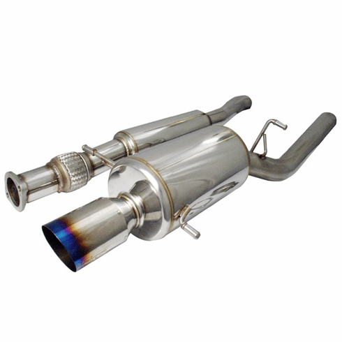 Injen Super SES Full 76mm Cat-Back Exhaust System with 4.5 inch tip Part # SES1202TT for the 2006 Subaru WRX