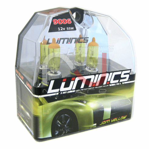 Luminics JDM Yellow H13 (9008) Twin Pack Part # LY-H13SF