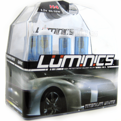 Luminics Krypton Titanium White H4 Twin Pack Part # LKT-H4SF