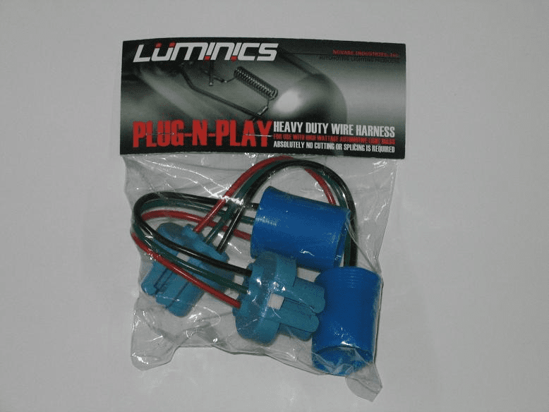 Luminics Plug and Play 9004 Wire Harnesses Part # LH-9004