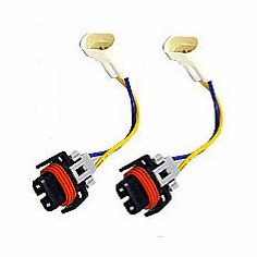 Luminics Plug and Play H11 Wire Harnesses Part # LH-H11