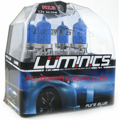 Luminics Pure Blue H13 (9008) Twin Pack Part # LB-H13SF