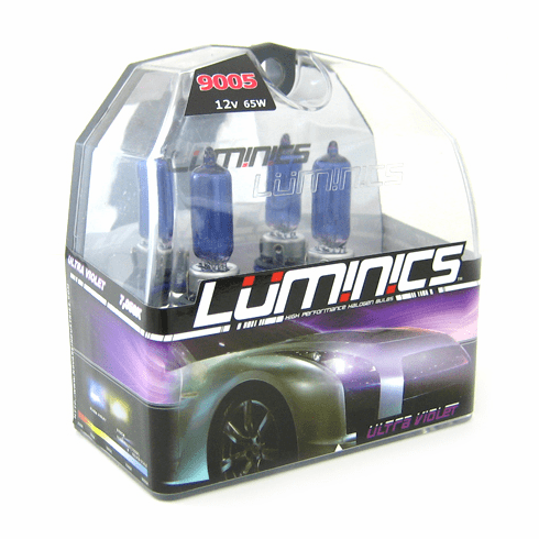 Luminics Ultra Violet 9005 (HB3) Twin Pack Part # LV-9005F
