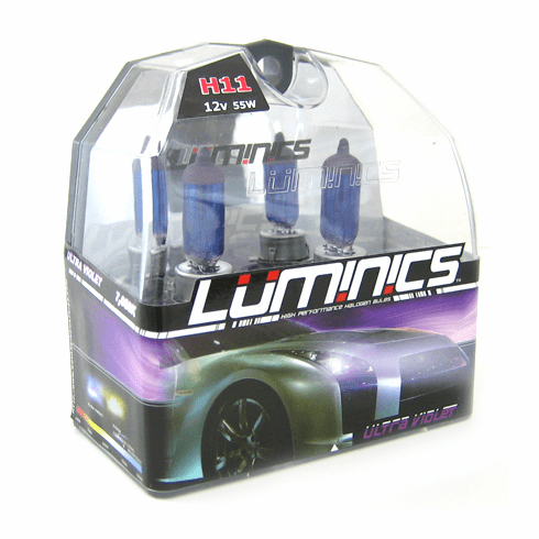 Luminics Ultra Violet H11 Twin Pack Part # LV-H11F
