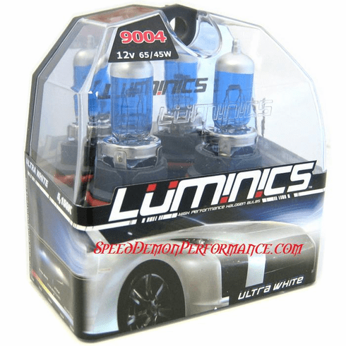 Luminics Ultra White 9004 (HB1) Twin Pack Part # LW-9004SF