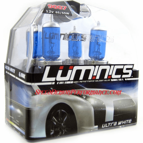 Luminics Ultra White 9007 Twin Pack Part # LW-9007SF
