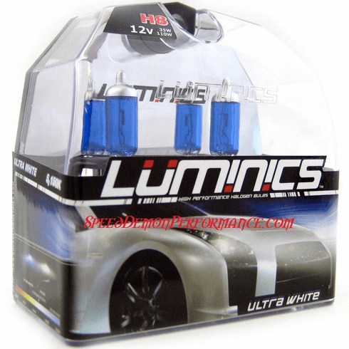 Luminics Ultra White H8 Twin Pack Part # LW-H8T