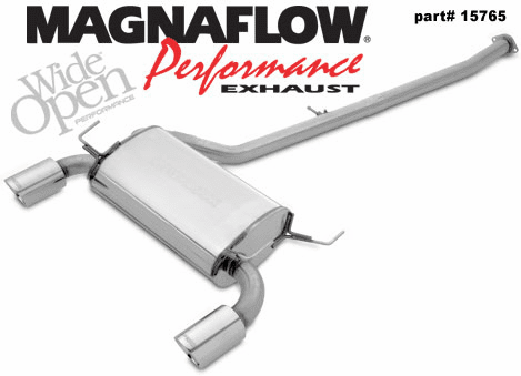 Magnaflow 2.5 inch Cat-back Exhaust System Part # 15765 for the 2003 - 2007 Nissan 350Z