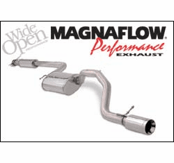 Magnaflow Cat Back Exhaust System Part # 15826 for the 2004 - 2006 Ford Focus ZX3 & ZX5