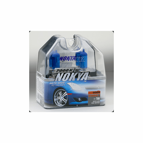 Nokya Stage 1 Arctic White 9006 (HB4) Headlight Bulbs Part # NOK7410