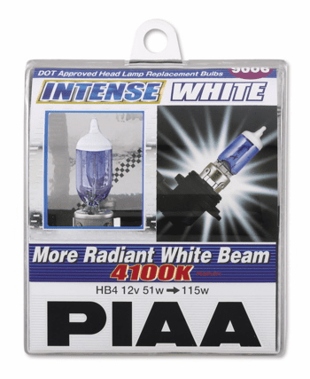 PIAA 9005 (HB3) Intense White Twin Pack Bulbs Part # 10925
