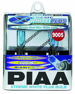 PIAA 9005 (HB3) Xtreme White Plus Twin Pack Bulbs Part # 19615